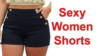 Sexy Women Skinny Shorts Review