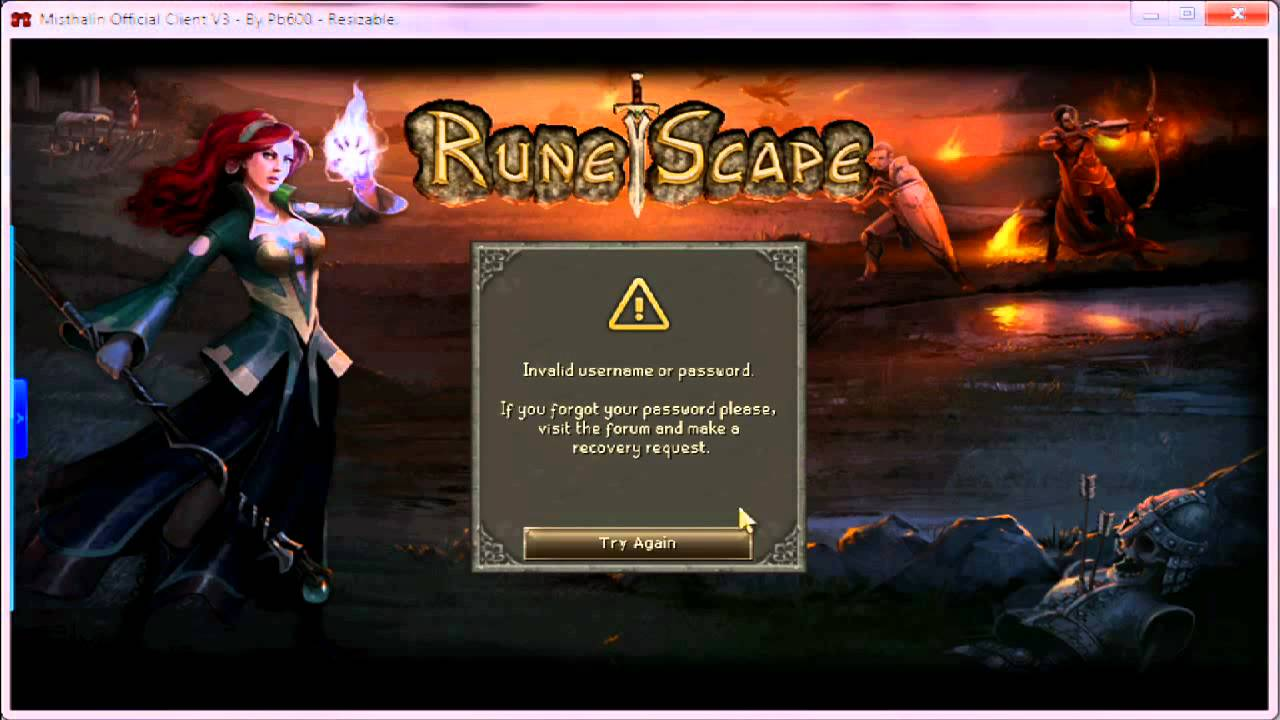 New Runescape Login Screen System Youtube