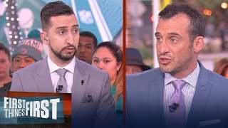 Doug Gottlieb reacts to the tragic death of Kobe Bryant | FIRST THINGS FIRST | LIVE FROM MIAMI