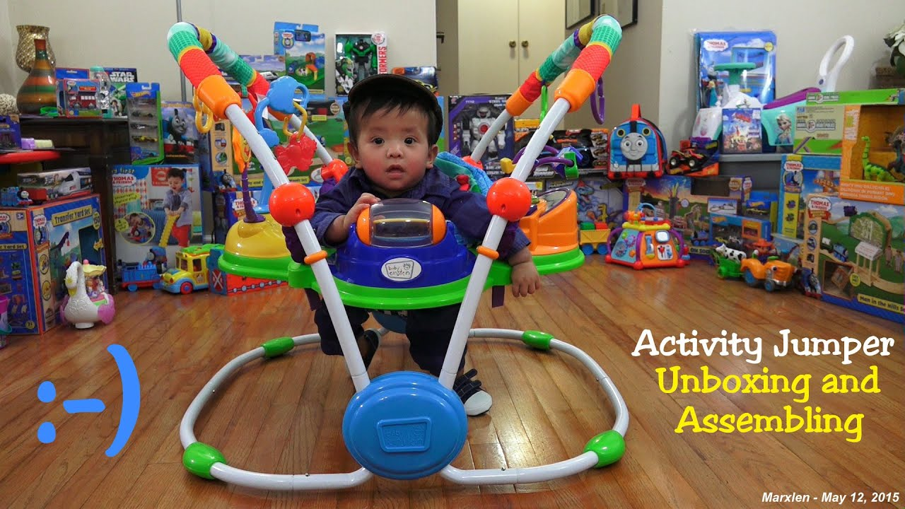Baby s Toys Fun Activity Jumper for Babies Unboxing and
