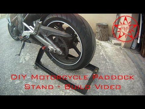 Diy Paddock Stand Build Video