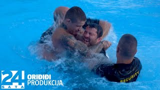 Show na vaganju! VASO i CROATA se potukli u bazenu