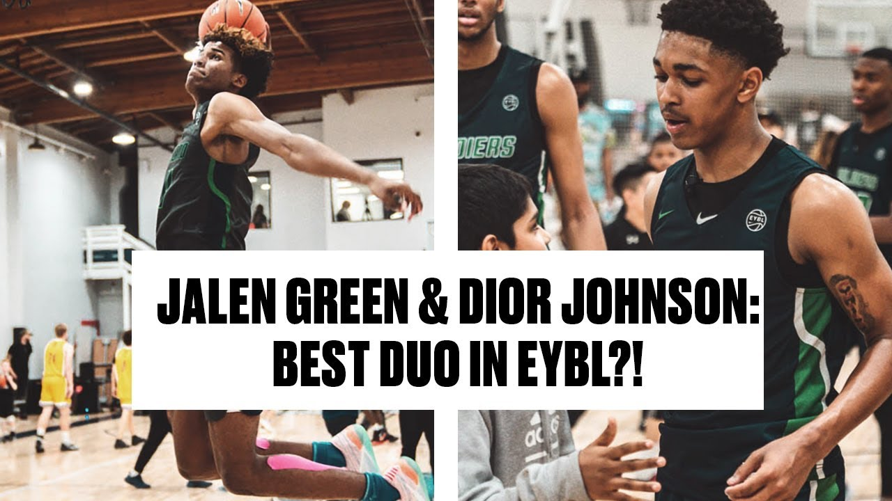 Jalen Green and Dior Johnson Are READY For AAU Season - Full Highlights