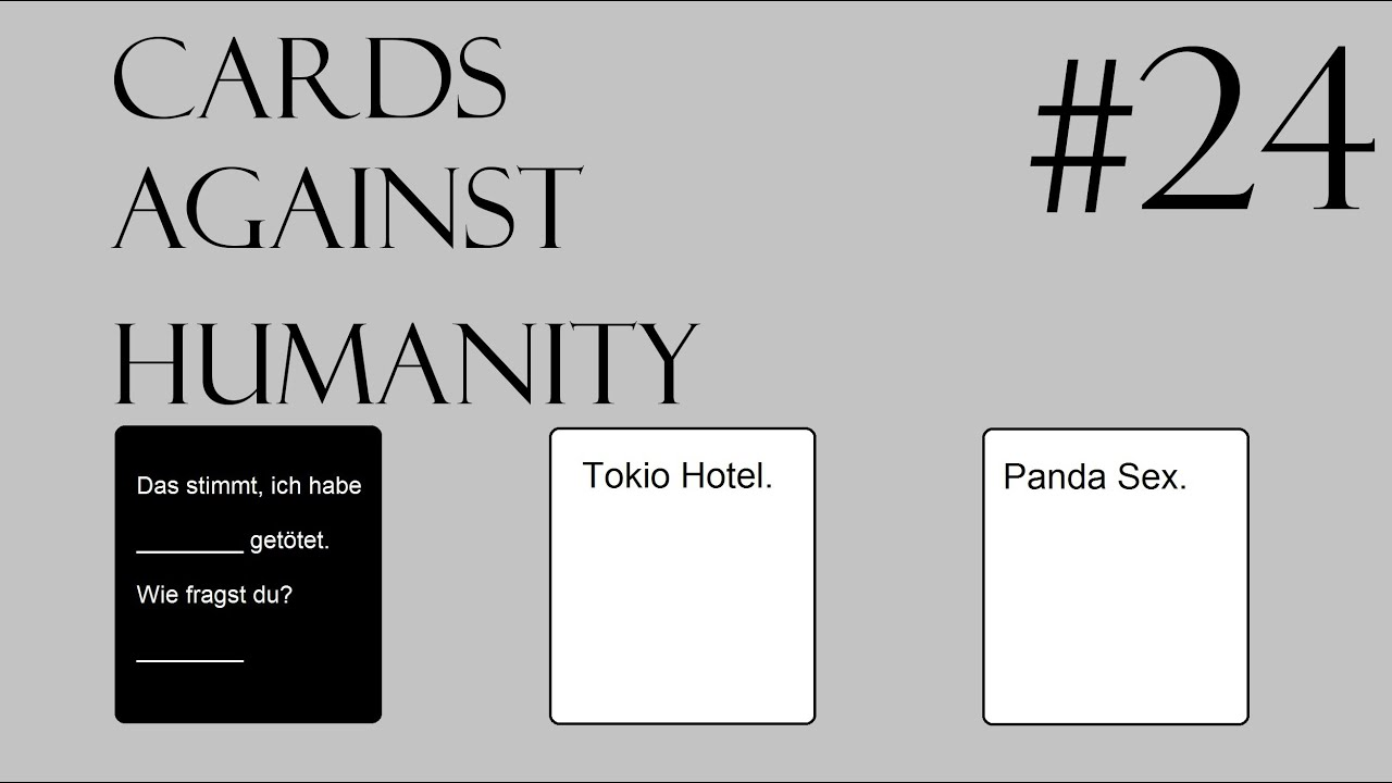 Cards Against Humanity Deutsche Karten
