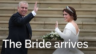 Download Video The Royal Wedding: Princess Eugenie and Duke of York arrive MP3 3GP MP4