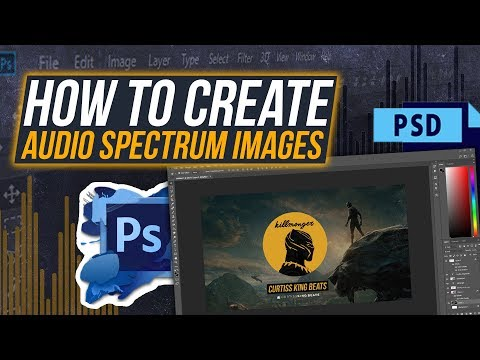 How To Create Beat Visualizer Artwork (Adobe Photoshop Tutorial)