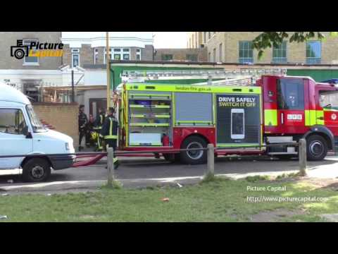Blaze aftermath at Stamford Hill Jewish faith school, London, UK