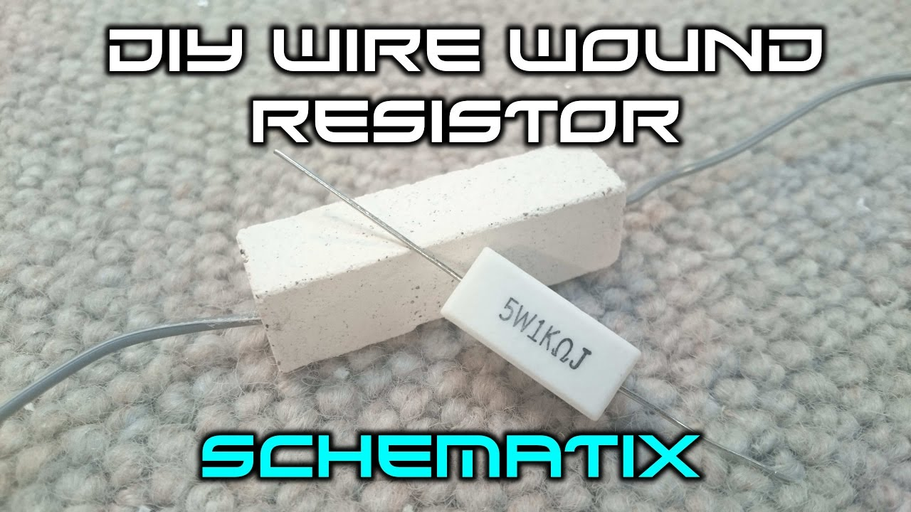 How To Make A Wire Wound Resistor - YouTube