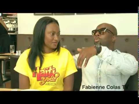 5 gwo kesyon Fabienne Colas poze Wyclef Jean Montreal   Interview exclusif