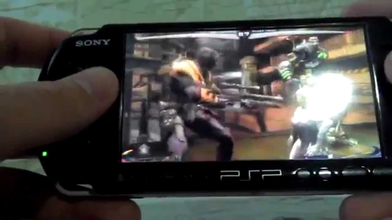 Injustice On Psp Using Remote Play Ps3 Youtube