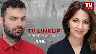 InstaForex tv news: TV Linkup June 14: Outlook for EUR/USD, GBP/USD, USD/JPY