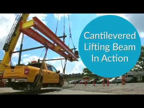 Cantilever Lifting Beam in Action