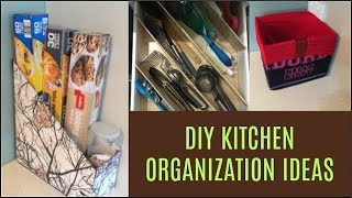 How to organise kitchen without spending money | DIY kitchen organization ideas | no cost