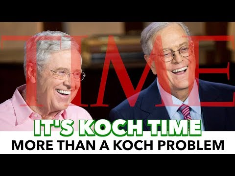 Media Hypocrisy On The Koch Brothers Purchase Of Time Inc.
