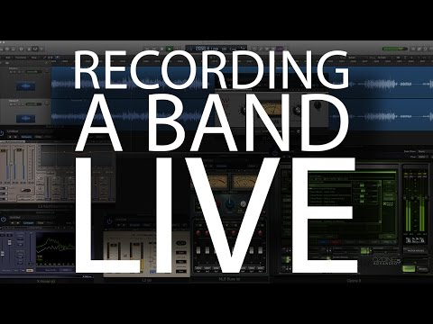 How to Record a Band Live (in the studio)