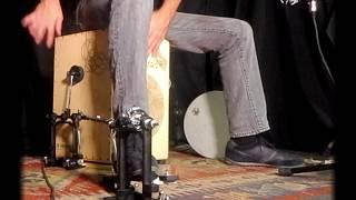 Cajon Drumset Box & pedal from Cajon DG, Barcelona