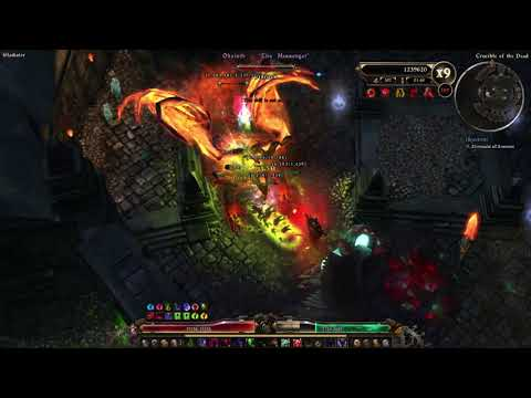 Grim Dawn FG Expensive Vileblade Witch Hunter 151-170 Crucible
