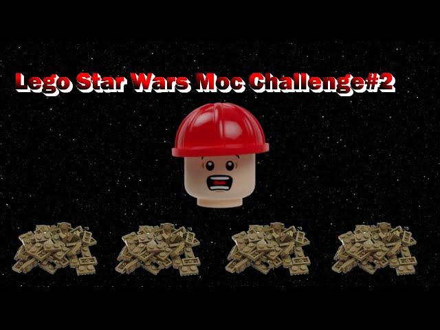 Lego Star Wars Moc Challenge #2 / Basis Challenge