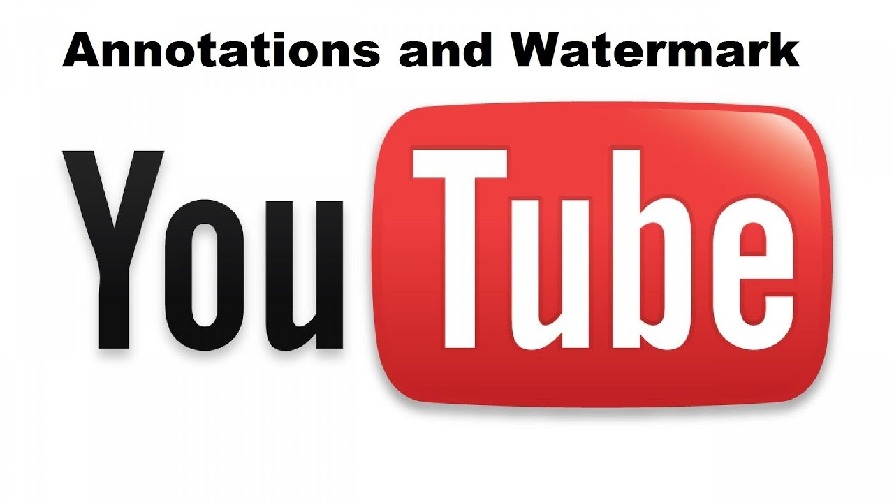 how to add watermark on youtube videos