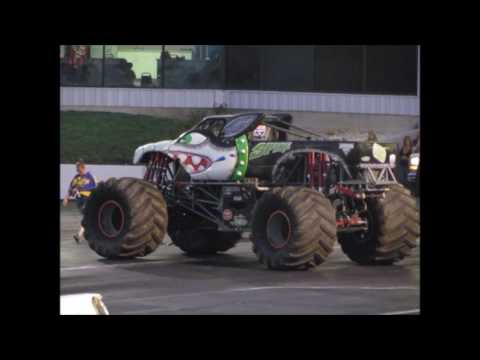 Monster Truck Show, 2017, 42nd Annual Night Of Thrills, Englishtown NJ, Raceway Park 7/19/16