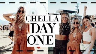 coachella day 1 vlog: outfit, youtube bffs reunite, good music, and more!