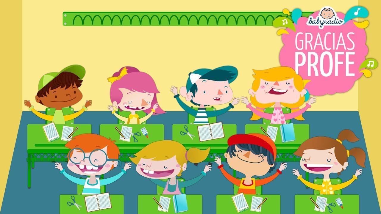 Thank you teacher the teachers song in spanish youtube voltagebd Choice Image