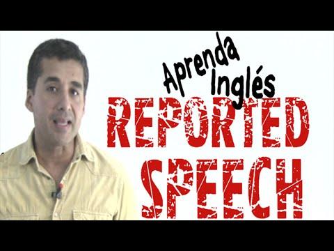 La forma más fácil de aprender REPORTED SPEECH