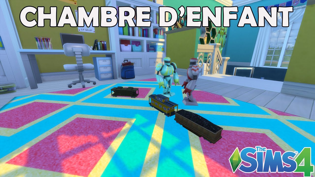 Les Sims 4 Chambre d enfant mixte Construction speed build