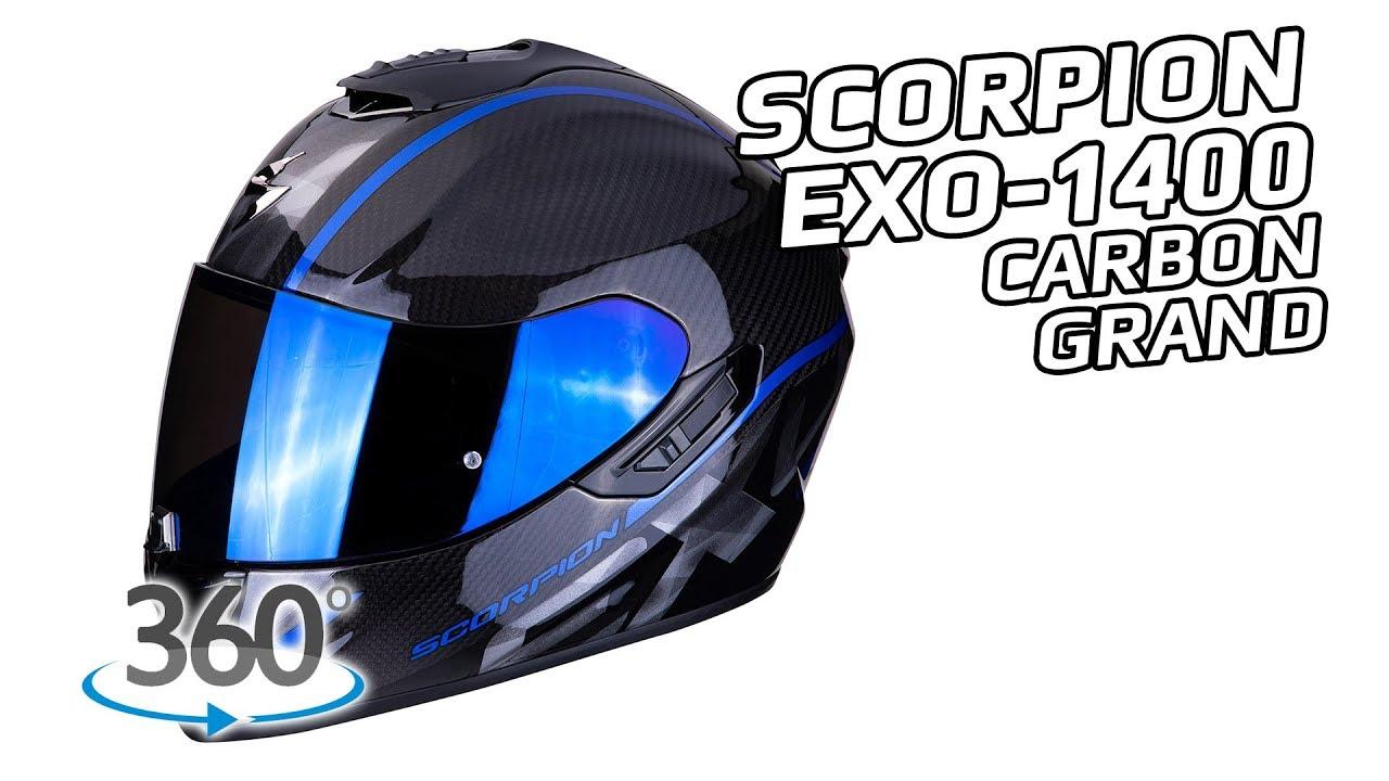 scorpion exo 1400 air carbon grand 360 oram youtube. Black Bedroom Furniture Sets. Home Design Ideas