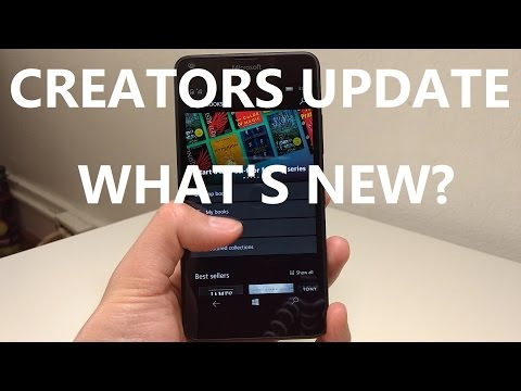 Windows 10 Mobile Creators Update: What