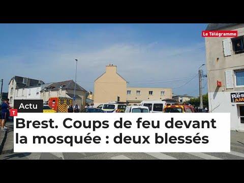 Brest. Coups de feu devant la mosquée : deux blessés