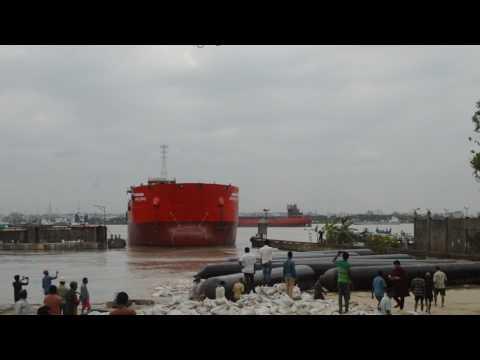 Biggest Ship Launching by Western Marine Shipyard Ltd.