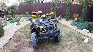 Квадролайв|Обзор квадроцикла Avantis Hunter 150 Lux