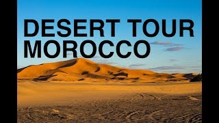 THERE ARE NO CAMELS IN MOROCCO - Morocco Desert Tour