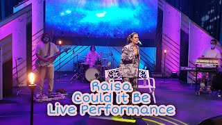 Raisa - Could it Be Live Performance