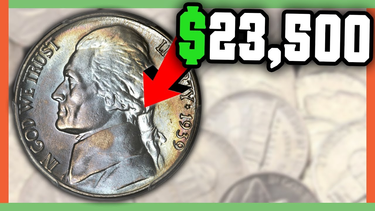 23 000 Rare Nickel To Look For Rare Error Nickels Worth