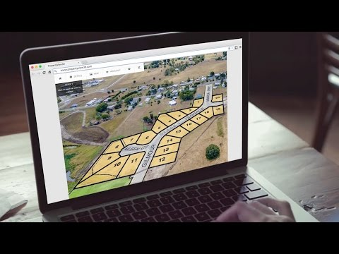 House & Land Off-the-plan Web Explorer Demo by VizNavigator.com