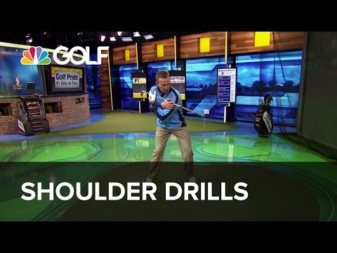 Shoulder Drills - The Golf Fix | Golf Channel