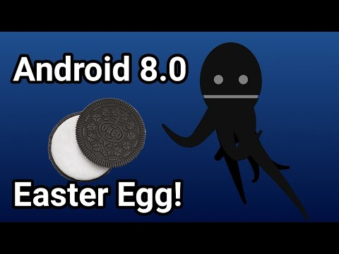 Android 8.0 Oreo Easter Egg!