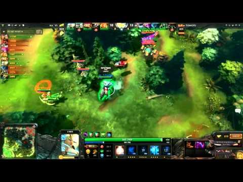 Na`Vi Vs TongFu Game 3 Highlights TI3 (Fountain Hook)