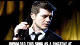 "ROBIN THICKE - ""FALL AGAIN (FULL) MJ DEMO"" [ New Video + Lyrics + Download ]"