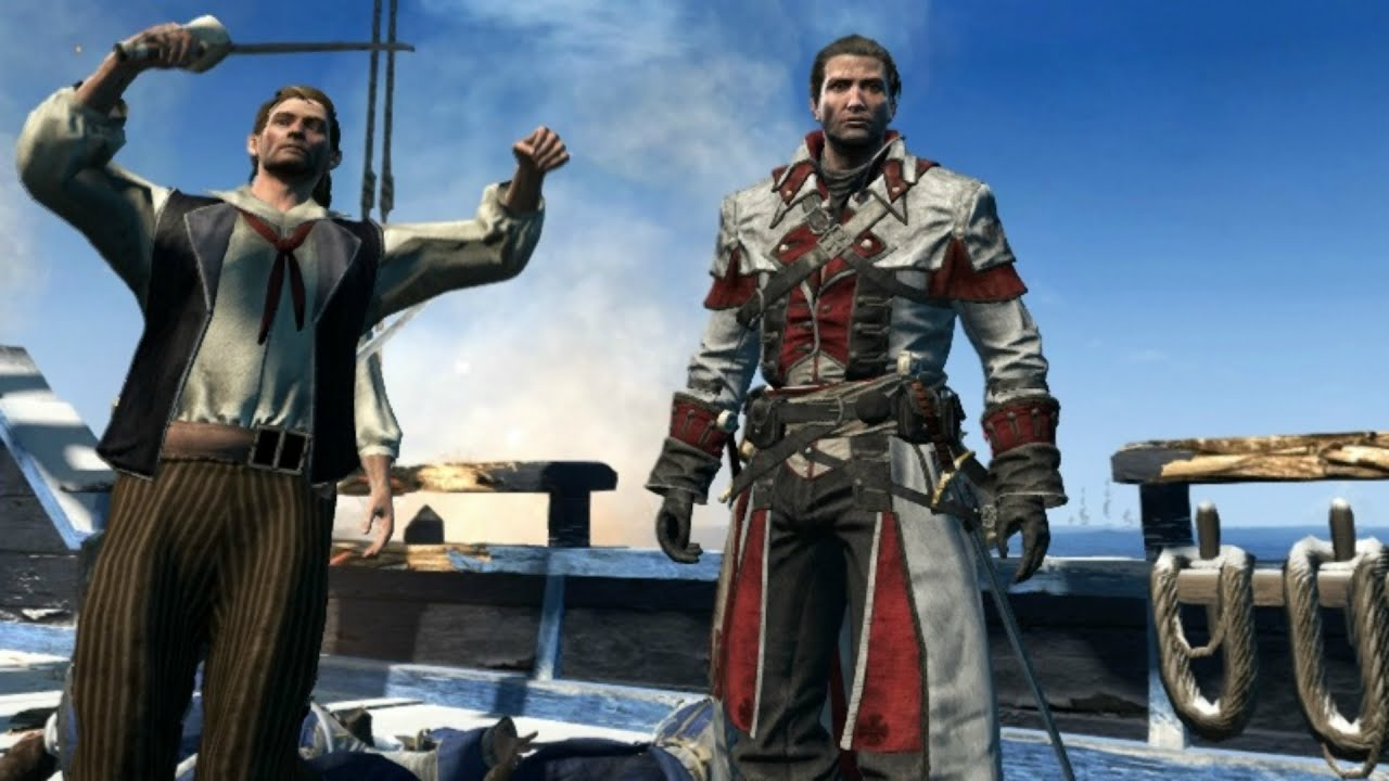 Assassin S Creed Rogue Templar Master Outfit Free Roam Naval