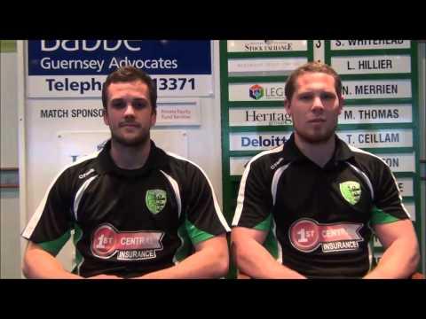 Guernsey RFC - Ben & Matt interview 2014