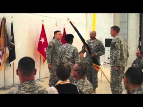 USAR Legal Command Re-Flagging Ceremony - October 2012