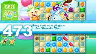 Candy Crush Jelly Saga Level 473 (3 star, No boosters)