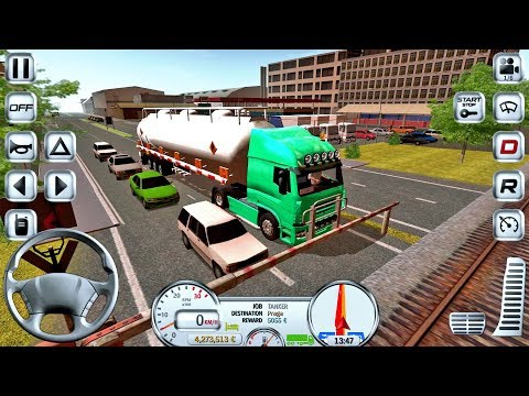 Euro Truck Driver Simulator #16 - Truck Game Android IOS Gameplay #truckgames