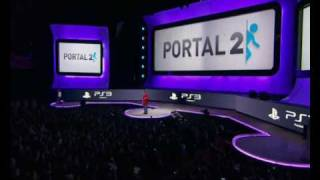 E3: 2010 Portal 2 on Playstation 3