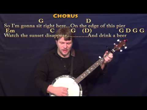 Drink A Beer - Banjo Cover Lesson with Chords/Lyrics