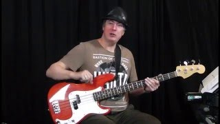 Four Strings Videobasslesson - Playing Soul (Teil 1)