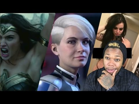 Wonder Woman and Mass Effect Controversy + WWE's Paige Hacked